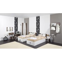 MERIDA - Componenti d'arredo camera d'albergo doppia