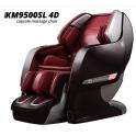 Poltrona Massaggiante Capsula KM9500 4D Robotic Zero Gravity con riscaldamento, rulli ai piedi