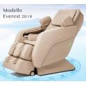 Poltrona massaggio Everest Zero Gravity con 6 rulli di massaggio e riscaldamento.