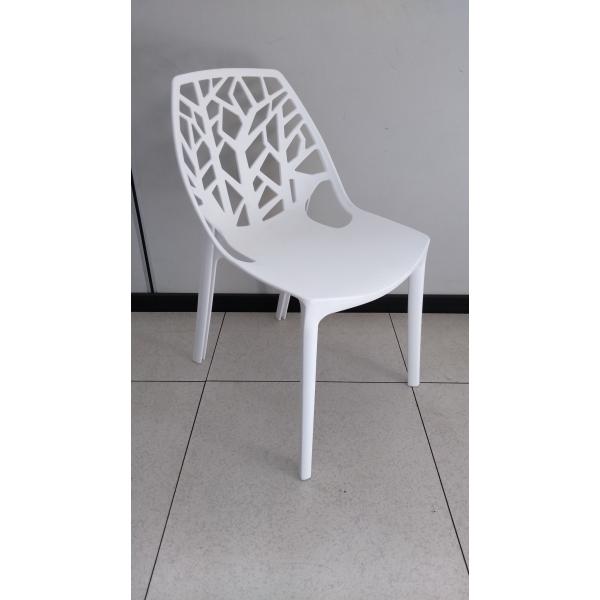 Tree chair pp sedia impilabile traforata in for Sedie per piscina