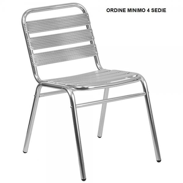 Sedie Bar Alluminio Prezzi.Sedia Contract Alluminio Bar Poltrona Alluminio Sedie