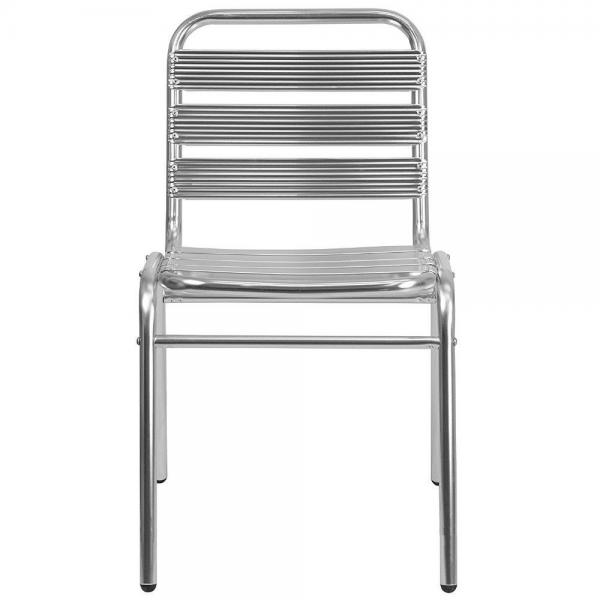 Sedie Alluminio Impilabili.Sedia Contract Alluminio Bar Poltrona Alluminio Sedie
