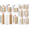 BUSINESS S - Armadio ufficio, scuola, studio, hotel, albergo, scaffali in legno