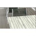 Marte BV - Tavolo con gamba in ferro (ghisa) e piano in verzalit da esterno bar, hotel, albergo