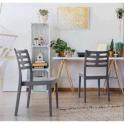 Pila da 18 sedie Venere in polipropilene Impilabili bar ristorante hotel certificata per uso locali