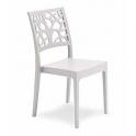 Pila da 18 sedie Teti in polipropilene Impilabile bar ristorante hotel certificata per uso localiᅠ