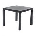 Pila da 30 tavoli modello Ares 70x70xH74cm polipropilene da esterno giardino bar ristorante certificato per uso locali