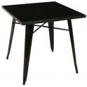 Metal - Tavolo stile industriale simil Tolix 60x60,70x70 e 80x80cm in casa, bar, ristorante, catering