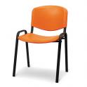 Giove - Sedia ufficio impilabile per sala attesa reception visitatori conferenza riunioni convegni chiese corsi studio