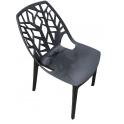 Tree chair  PP - Sedia Impilabile traforata in Polipropilene da esterno ed interno per bar ristorante piscina hotel