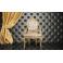 Pannellatura a muro per divanetti per bar e poltroncine contract, rivestimento in ecopelle (pelle ecologica), colori a scelta