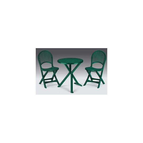 Vendita tavoli e sedie in plastica resina prezzi tavoli for Economici piani a due piani