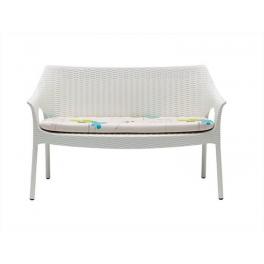 OLIMPO SOFA SPED.GRATUITA - Set da due divanetti con cuscino Impilabili in polipropilene rinforzato SCAB DESIGN