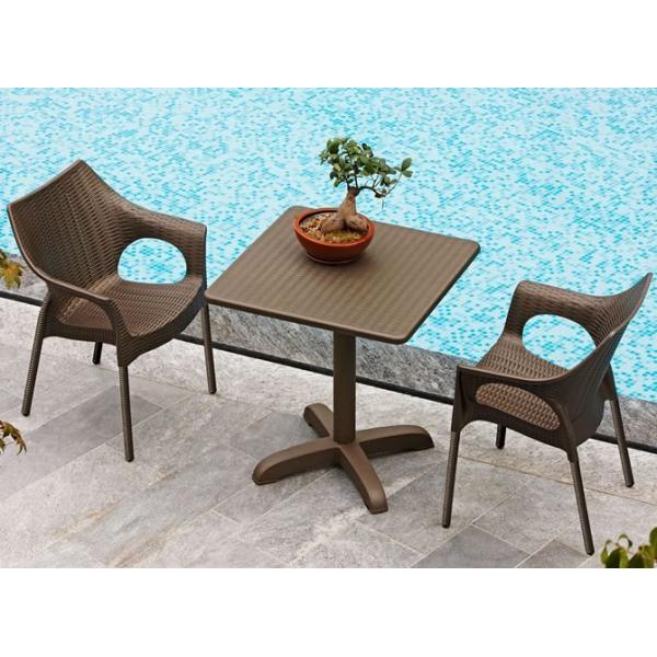 Olimpia trend contract bar sedie rattan esterno imbilabili for Tavoli e sedie da esterno