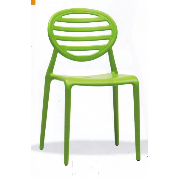 Sedia top gio contract bar sedie polipropilene colorate for Sedie basso prezzo