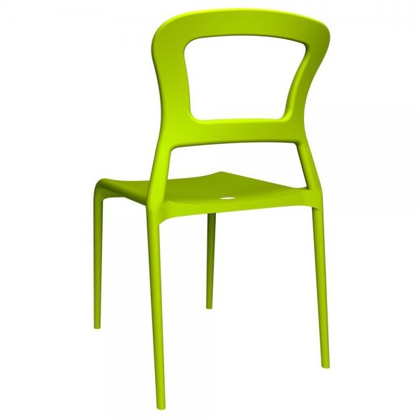Sedia pepper contract bar sedie polipropilene colorate for Sedia design usata