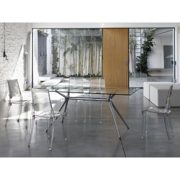 Vendita sedia policarbonato sedie glenda impilabili da for Sedia design vendita