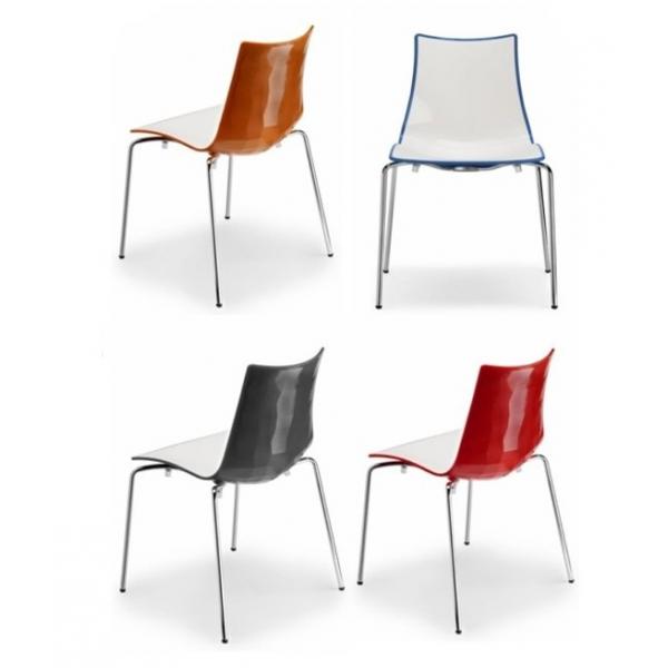 Vendita sedia policarbonato sedie impilabili da esterno for Sedie soggiorno economiche