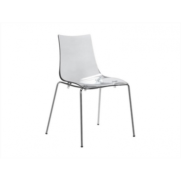 Vendita sedia policarbonato sedie impilabili da esterno for Sgabelli trasparenti