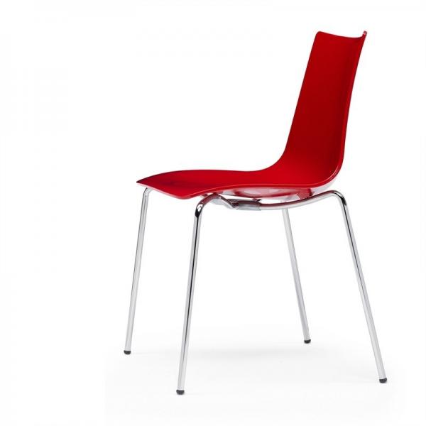 Vendita sedia policarbonato sedie impilabili da esterno - Sedia trasparente ikea ...