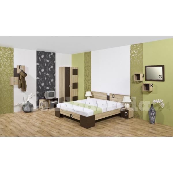 Maiorca arredo camera d 39 albergo matrimoniale mondoarreda for Arredo camere albergo