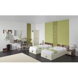BALI - Arredo camera d'albergo doppia