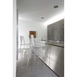 GLENDA SPED.GRATUITA - Sgabello in policarbonato casa, bar, ristorante, hotel, SCAB DESIGN