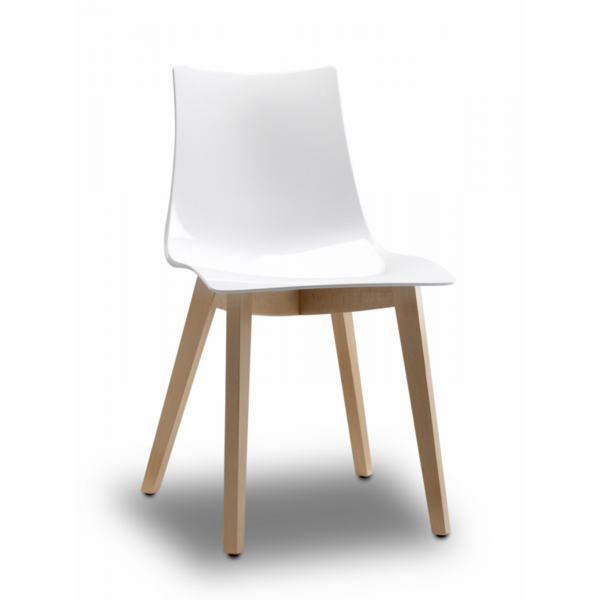 vendita sedia policarbonato FAGGIO,sedie legno policarbonato moderne ...