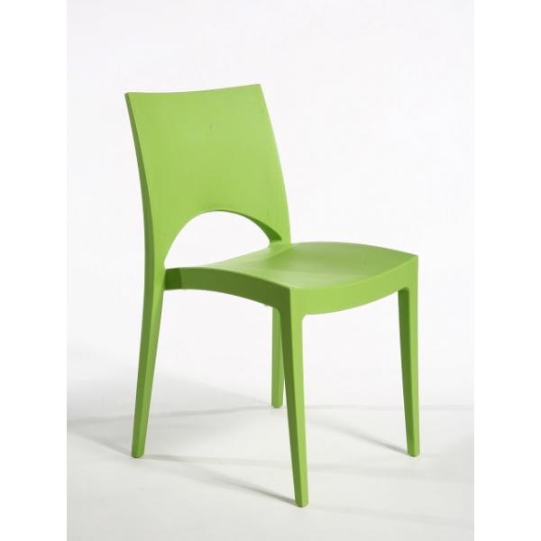 Sedia paris contract bar sedie polipropilene colorate for Sedie giardino esterno