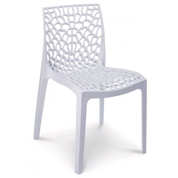 Sedia gruvyer contract bar sedie polipropilene esterno for Sedie giardino moderne