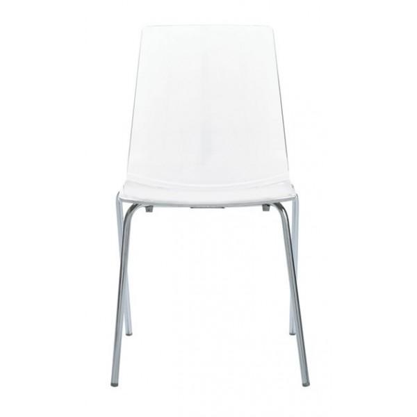 vendita sedia policarbonato acciaio cromato,sedie colorate da bar ...