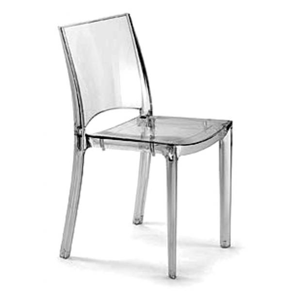 B side 1a scelta sedia impilabile in policarbonato grand - Sedia trasparente ikea ...