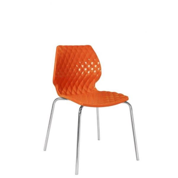 Uni sedia impilabile in polipropilene metalmobil - Sedia polipropilene impilabile ...