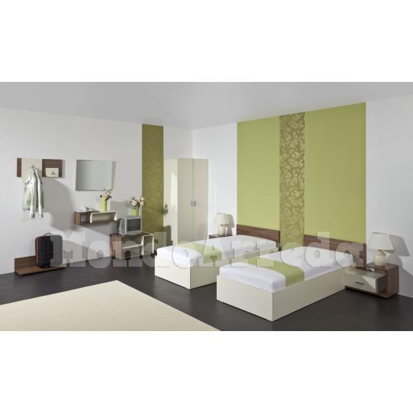 Bali arredo camera d 39 albergo doppia mondoarreda for Arredo camere albergo