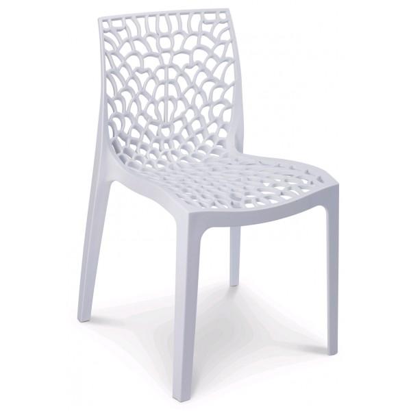 Sedie In Polipropilene Da Giardino.Sedia Polipropilene Impilabile Interno Di Casa Smepool Com